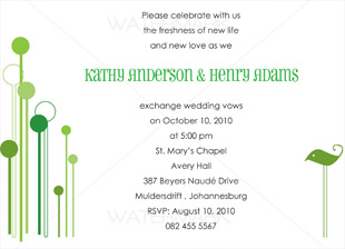 Ff decor function co ordination and decorengagement parties our a6 wedding invitation cards showcase each couples personal style and come in an exciting array of colors designs and fonts stopboris Image collections